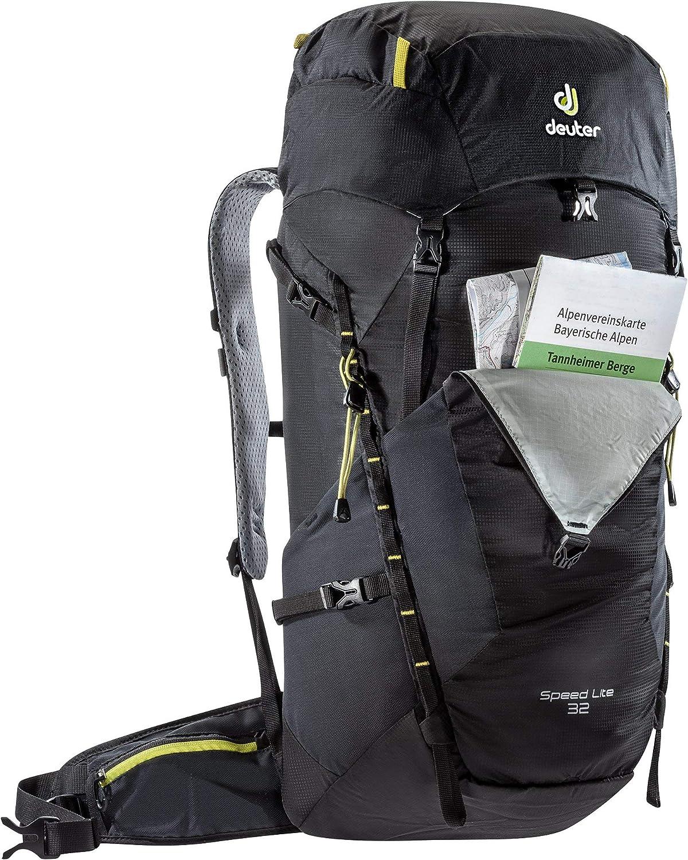 Deuter Speed Lite 32 Rucksack Trekking Wandern Outdoor black 32 Liter
