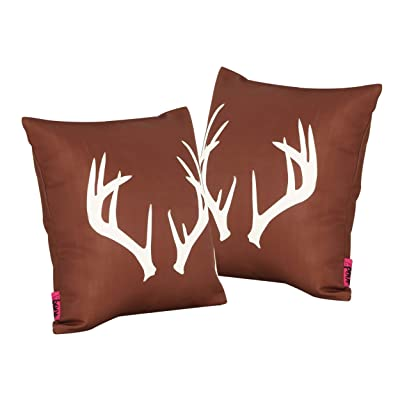 "Christopher Knight Home Antler Outdoor 17.75"" Square Cushion (Set of 2by : Garden & Outdoor"
