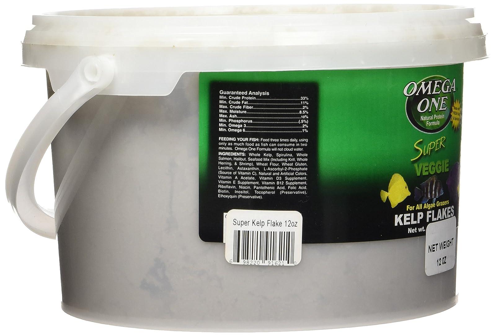 Omega One Super Veggie Kelp Flakes - 12 oz 91621 - 2