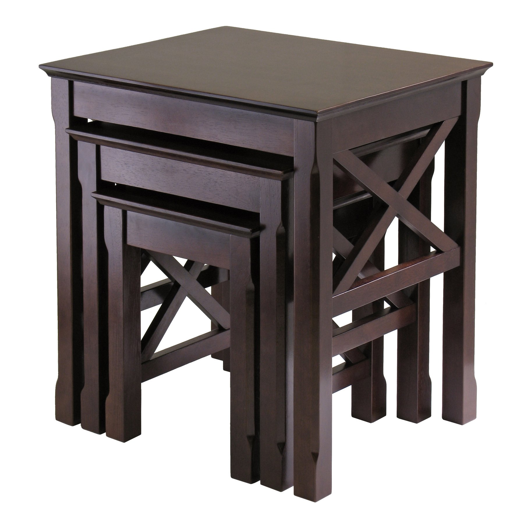 Winsome Wood Xola 3pc Nesting Table
