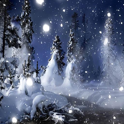 Winter Snow Scenery Live Wallpaper Amazones Appstore Para