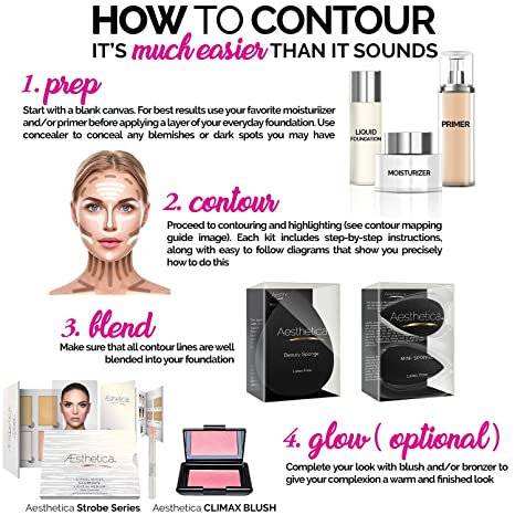 Amazon Aesthetica Cosmetics Cream Contour And Highlighting
