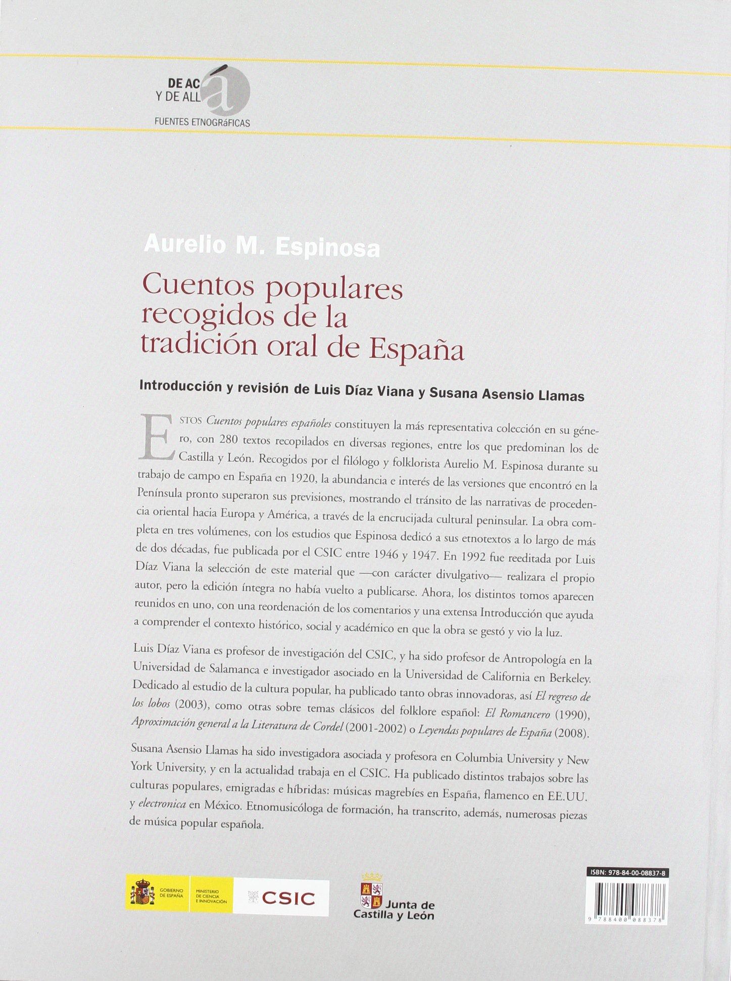 Cuentos populares recogidos de la tradición oral de España: 4