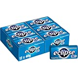 Eclipse Sugar Free Peppermint Mints, 40g Tin (Pack of 12), 12 x 40 g