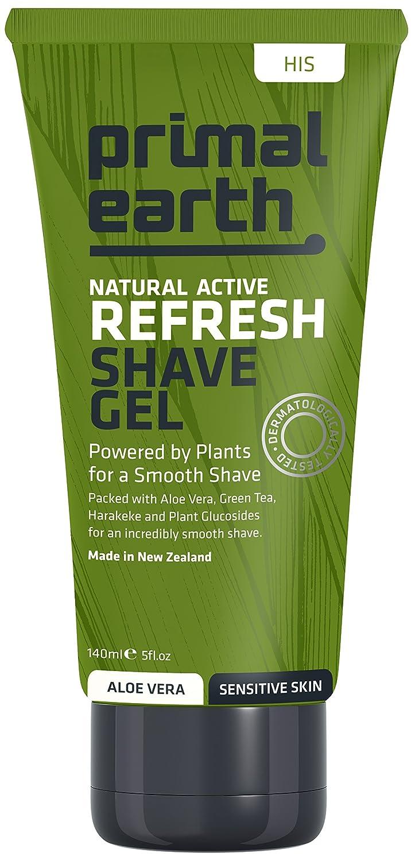 Primal Earth Refresh Shave Gel 140ml (4.7 oz) Mix Limited