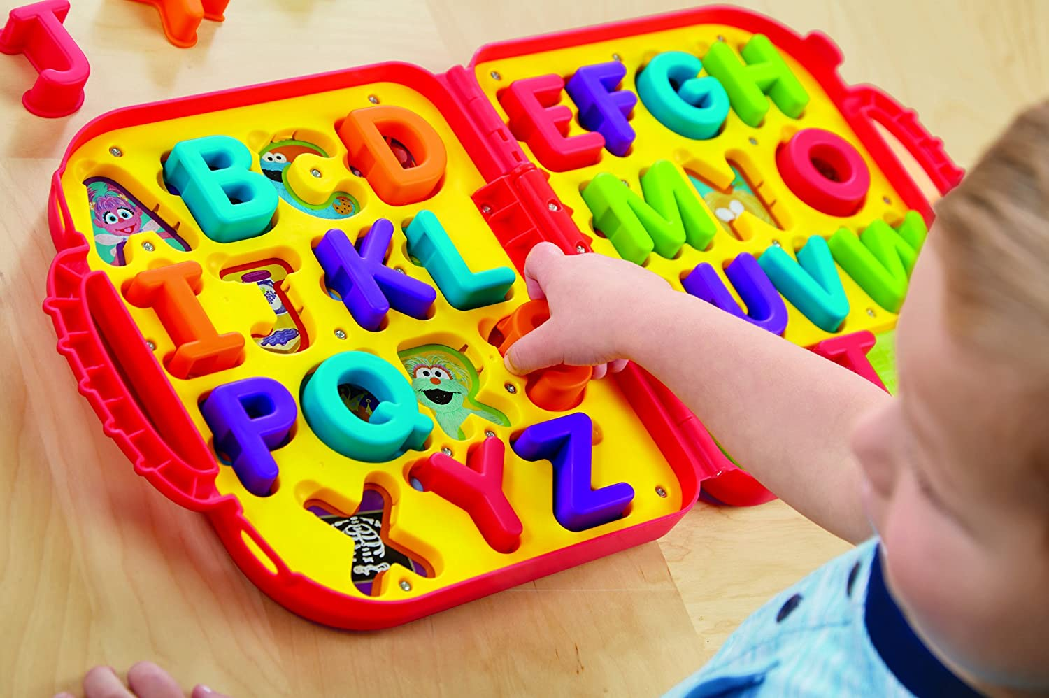 Alphabet Learning Toys : Alphabet learning activity toy game for toddlers letters with
