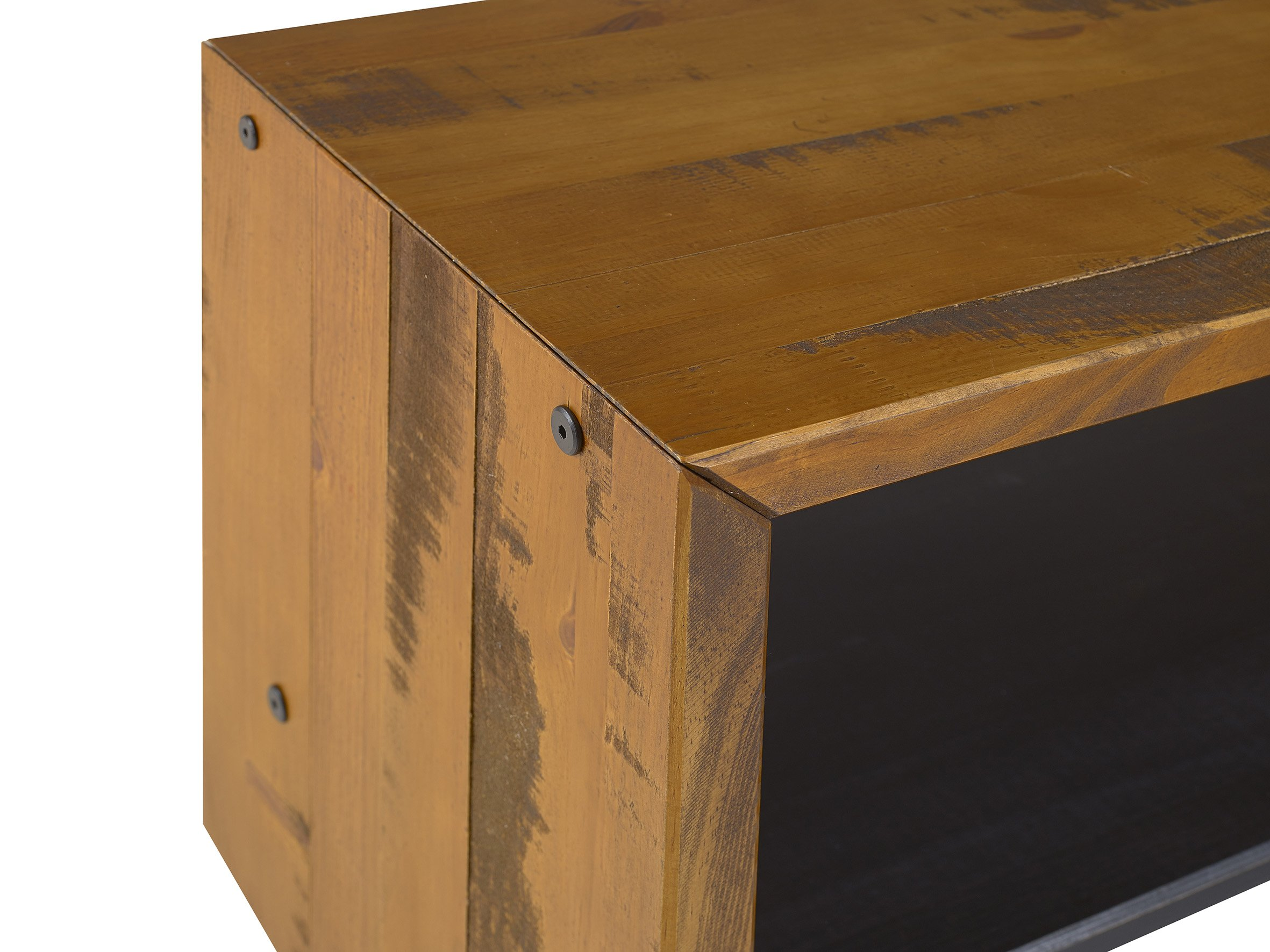WE Furniture Reclaimed Wood Entry Bench in Amber - 42'' by WE Furniture (Image #4)
