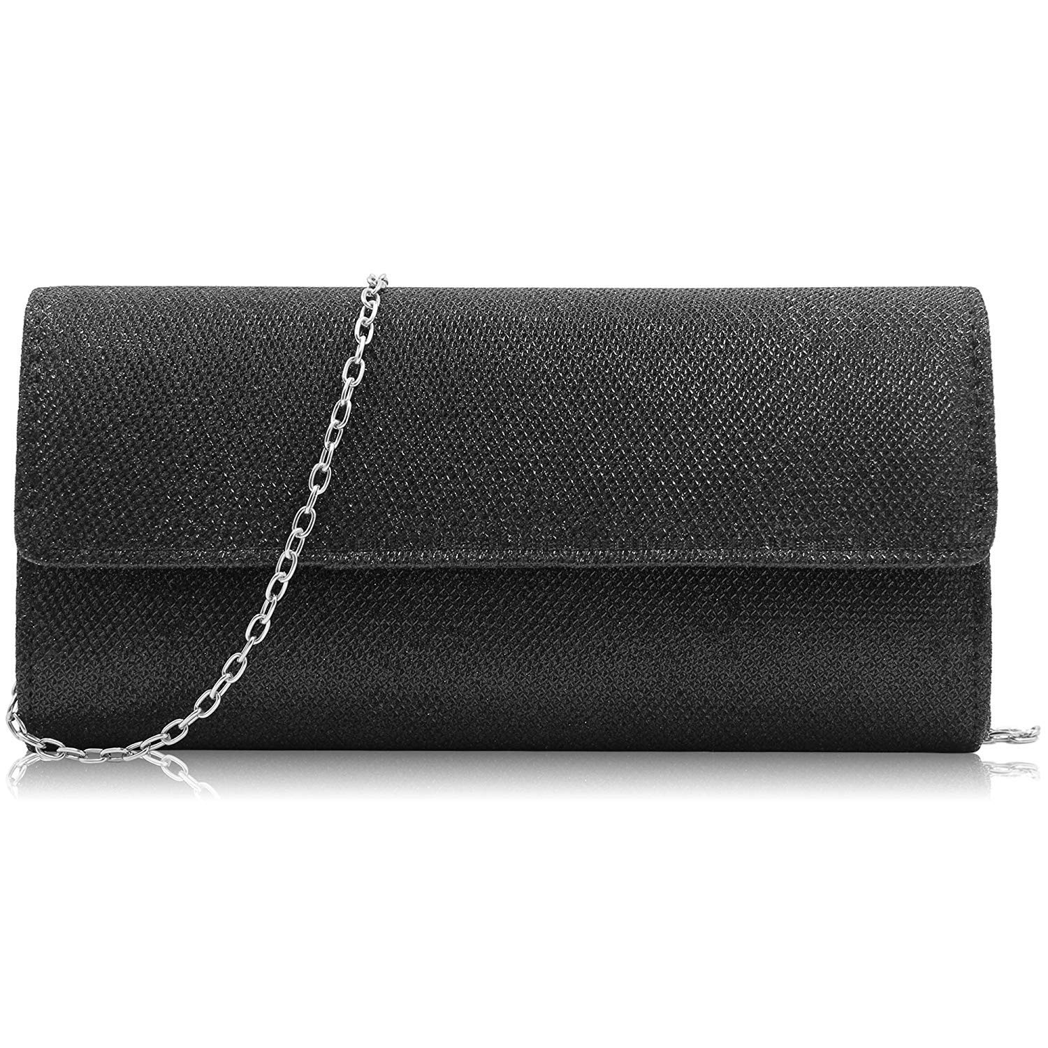 Milisente Clutch Purses For Women Glitter Evening Purse Sparkly Clutches Bag