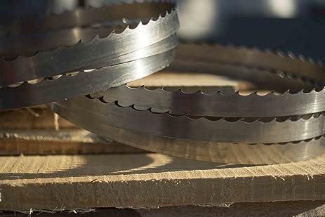 Wood-Mizer 158 DoubleHard Sawmill Blades Turbo 7° x 0. 045