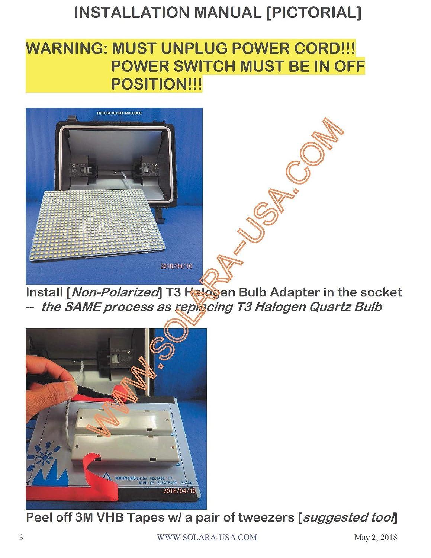 LED Panel for RETROFIT 300W/500W FLOOD LIGHT Halogen light