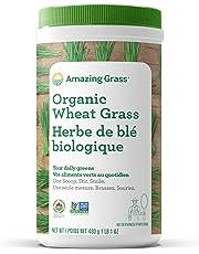 Amazing Grass Organic Wheat Grass Powder, 60 Servings, 480 Grams