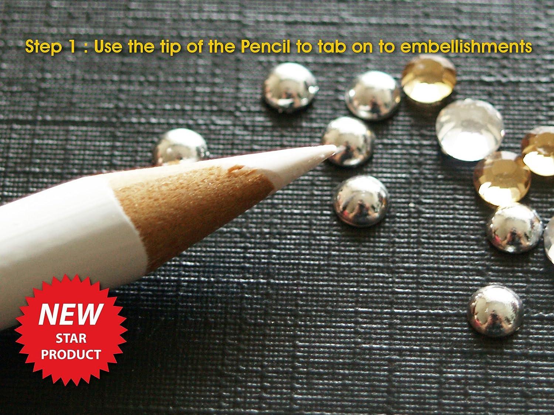 Mágico Sticky Pick Up lápices para coger y Transferir adornos pequeños L-FENG-UK