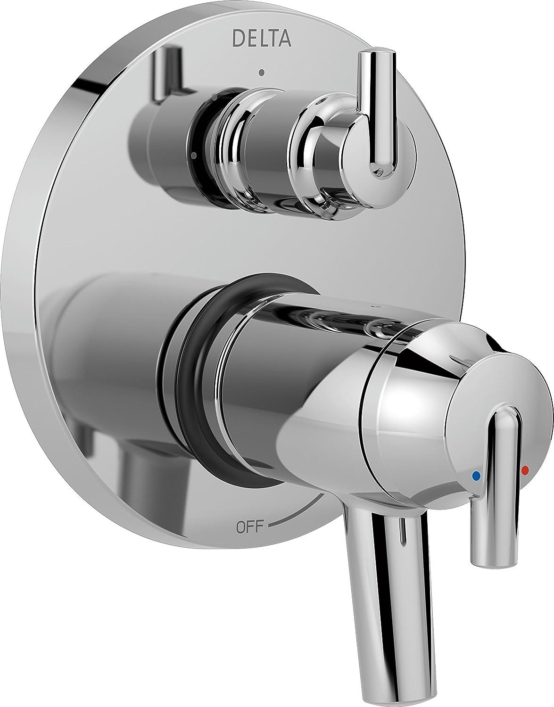 Delta Faucet T27T859, Chrome Trinsic Contemporary TempAssure 17T Series Valve Trim with 3-Setting Integrated Diverter