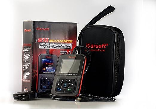 Icarsoft I910 Ii Bmw Und Mini Profi Diagnosegerät Inklusive 20 Pin Adapter Service Öl Airbag Reset Obd E Und F Fahrzeuge Auto