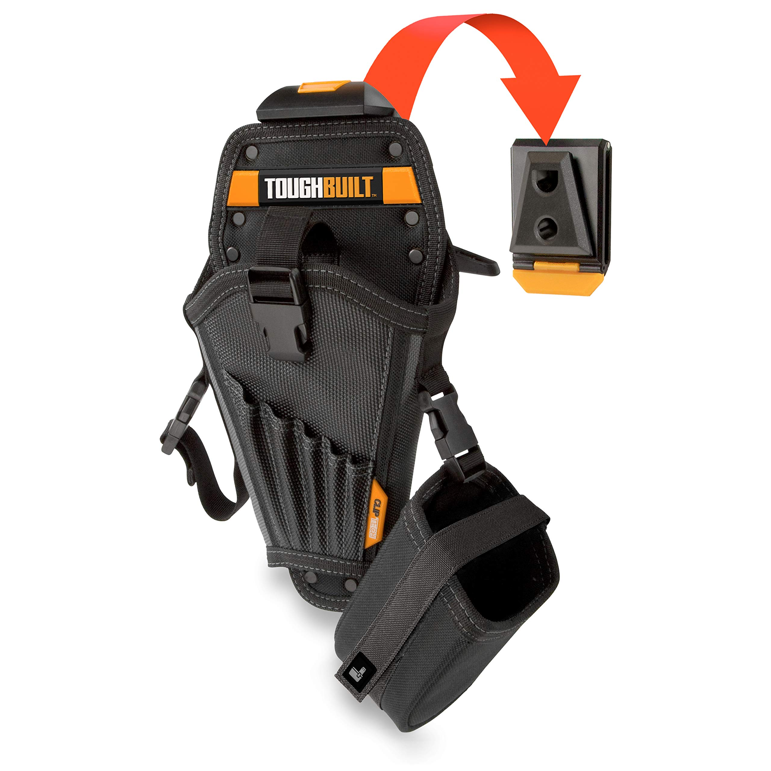 ToughBuilt - Drill Holster with 8 pockers, TB-CT-20 by ToughBuilt