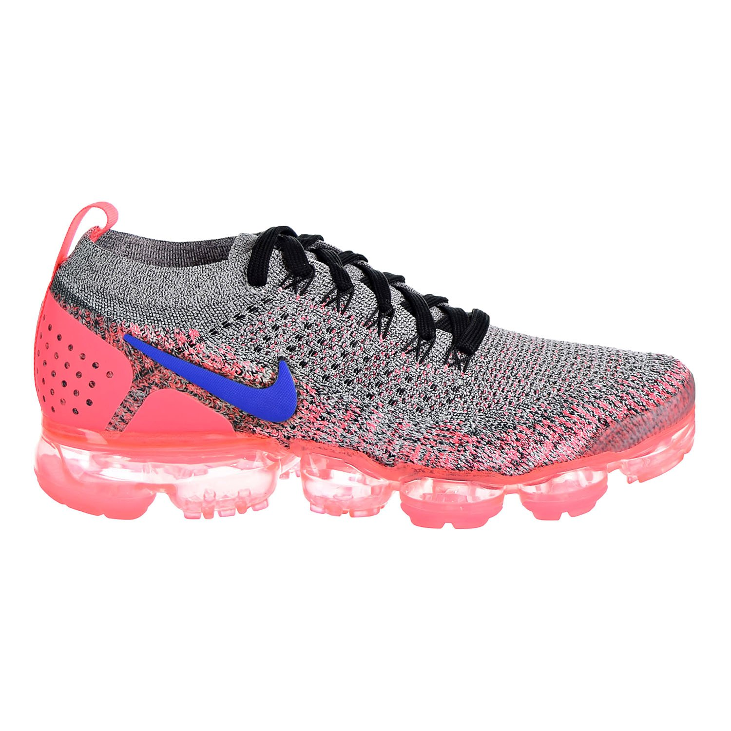 new concept 5b397 c68a1 Amazon.com   NIKE Air Vapor Max Flyknit 2 Women s Shoes  White Ultramarine Hot Punch 942843-104   Running