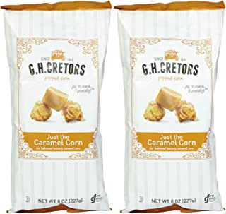 product image for G.H. Cretors Just The Caramel Corn Popcorn - 8 oz - 2 pk