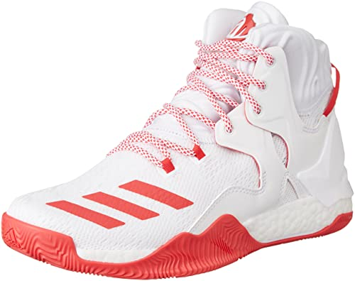 new product bf506 33691 adidas Men s D Rose 7 Basketball Shoes, Multicolore Rayred Ftwwht, ...
