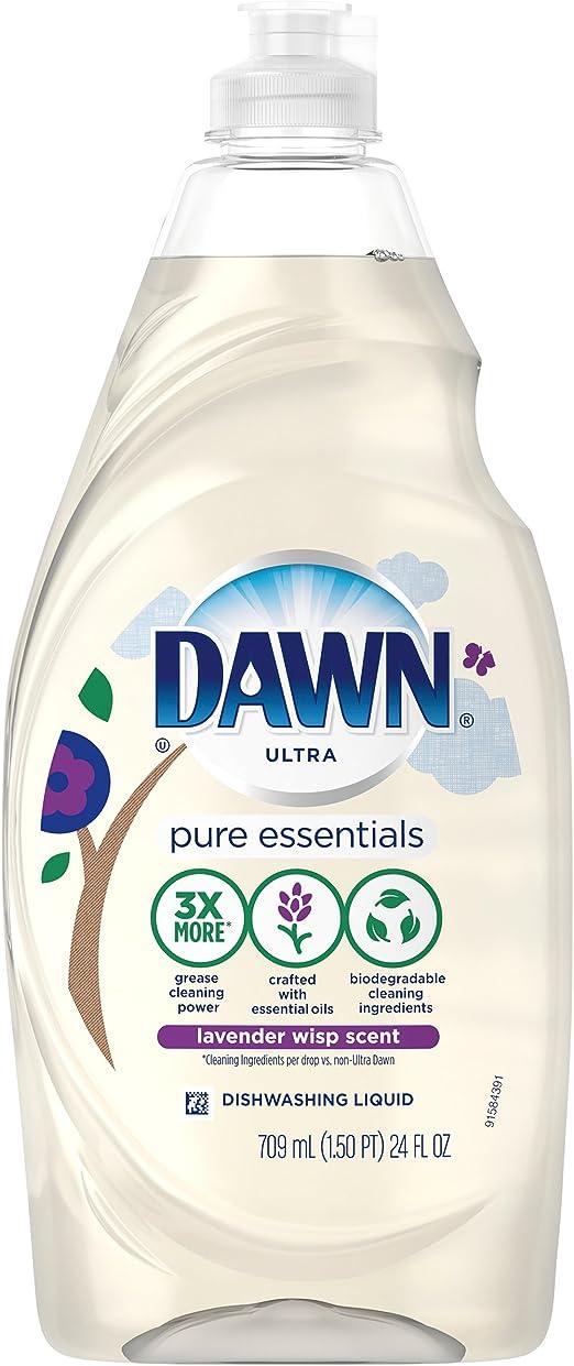 Dawn Pure Essentials Lavanda Wisp - Líquido para lavavajillas ...