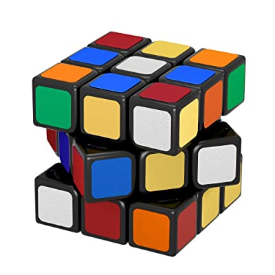 WEVGOUO 3x3x3 Speed Cube Magic Cube Vitesse IQ Magique Classique Professionnel Jeux Educatifs Scientifiques