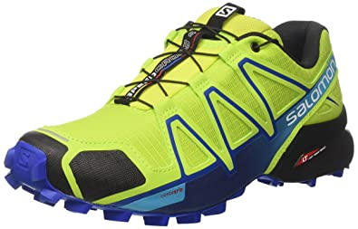 67eb738794513b Salomon Men s Speedcross 4 Trail Running Shoes  Amazon.co.uk  Shoes ...