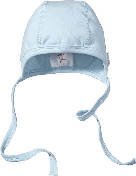 Bleu 313 Sterntaler Capota Gorra Azul para Beb/és