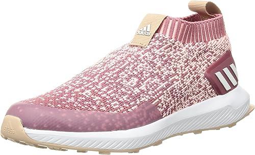 adidas Unisex RapidaRun Laceless Running Shoe, Trace Maroon ...