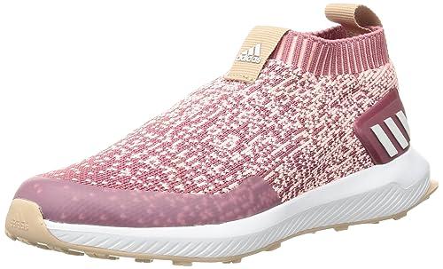 Adidas RapidaRun Tenis para Correr sin Cordones para niños