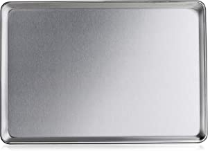 New Star Foodservice 36749 Commercial-Grade 16-Gauge Aluminum Sheet Pan/Bun Pan, 18