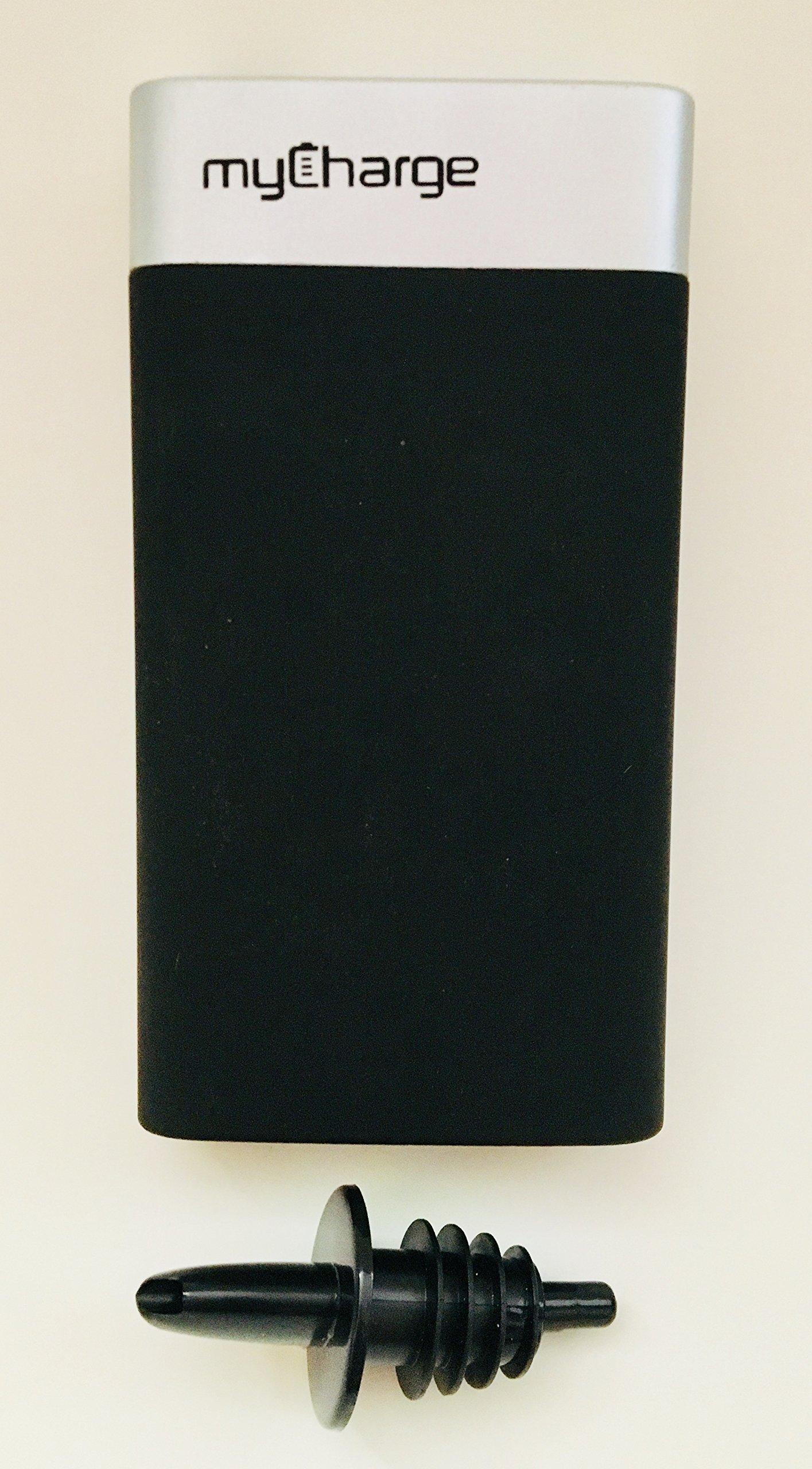 Binocktails Bev-Bank Hidden Power Bank Flask - Holds approximately 8 oz. (235 ml) by Binocktails