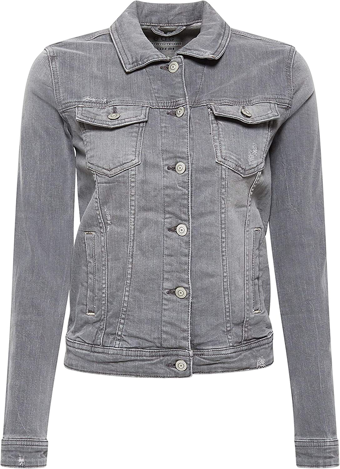 edc by Esprit Giacca in Jeans Donna Grigio (Grey Light Wash 923)