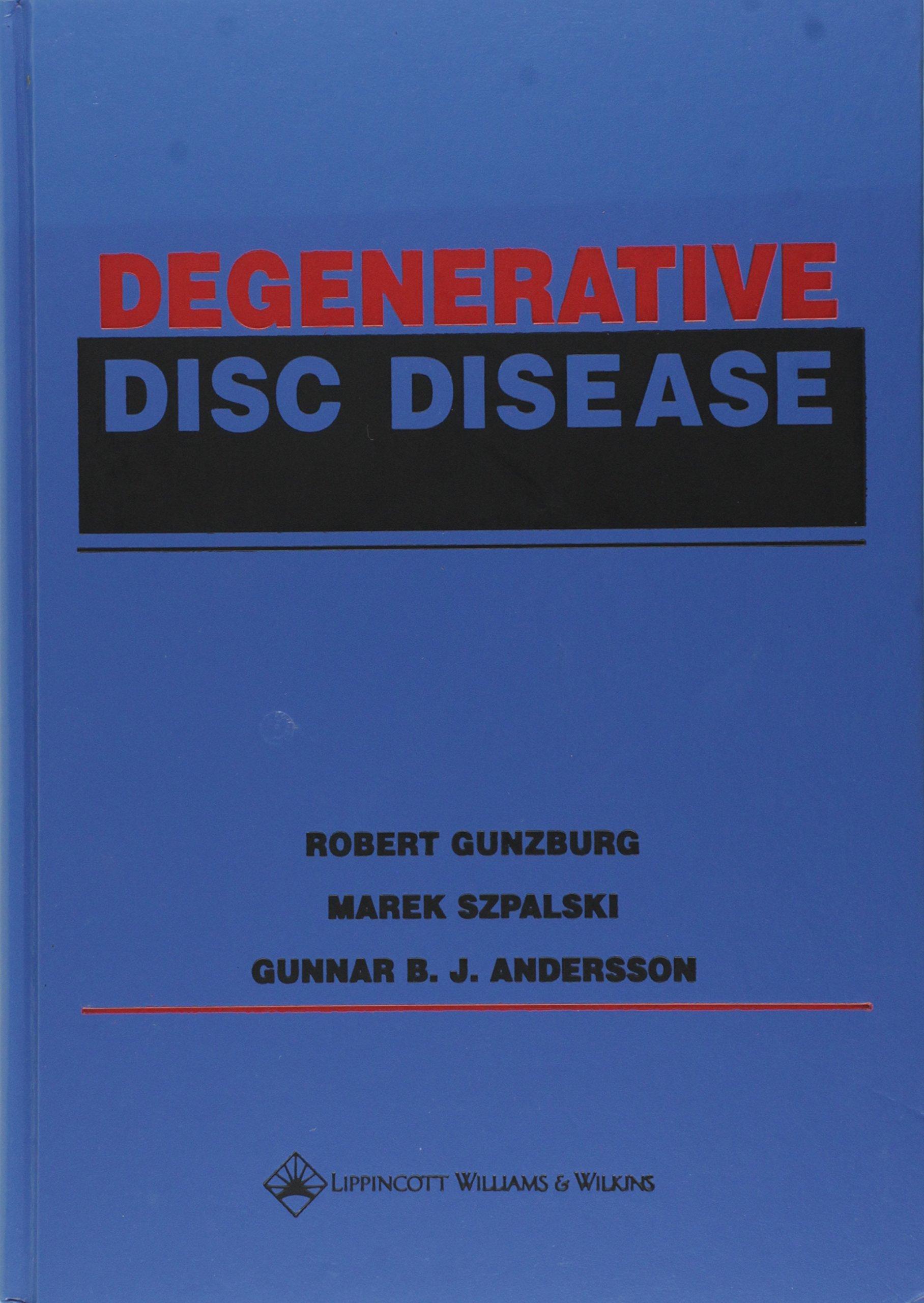 Download Degenerative Disc Disease PDF
