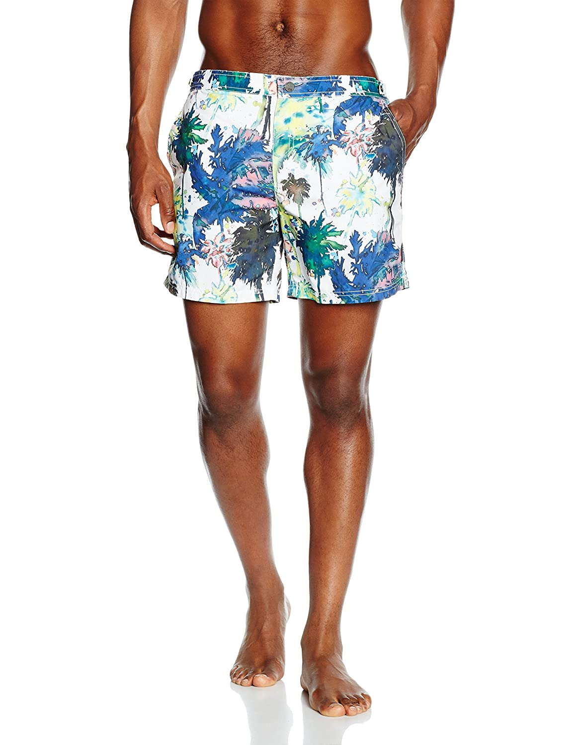 BOSS Hugo Boss Herren Badehose Tigerfish