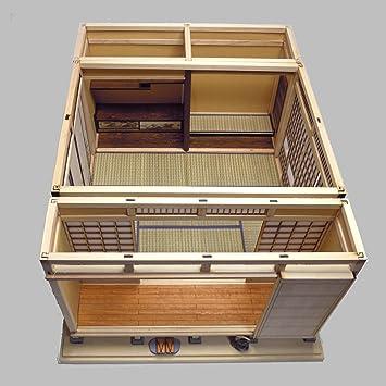 和室ドールハウス 限定キット 人気の床の間・和室・広縁キットの組み合わせをセットにしたお得な限定キット、松竹梅欄間が付属しています。