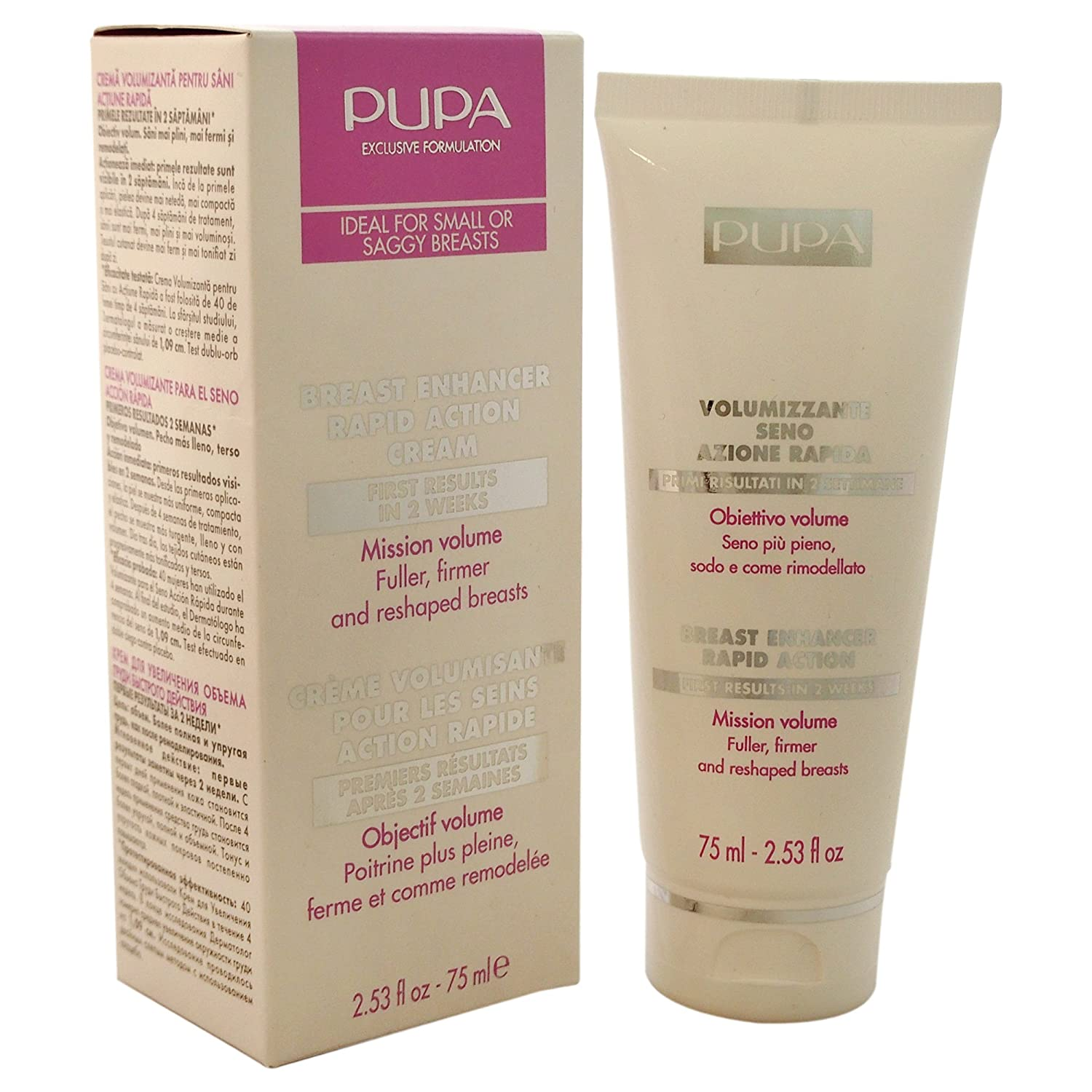 Pupa Rapid Action Breast Enhancer 75 ml 00E1701E