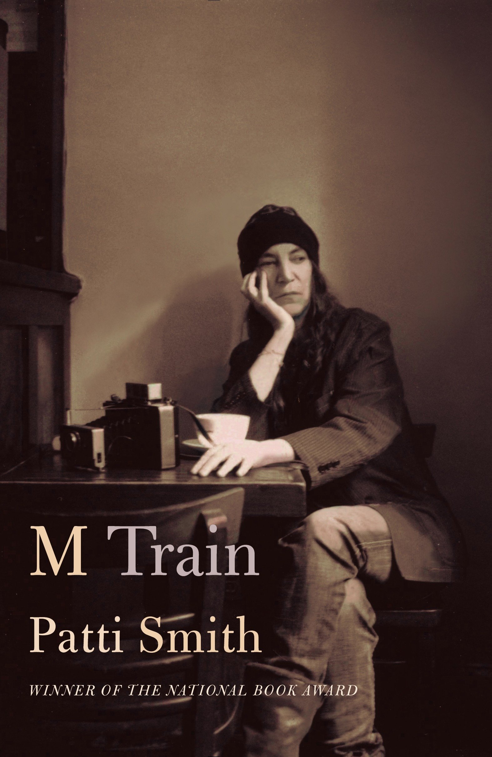 A book by Patti Smith, M Train