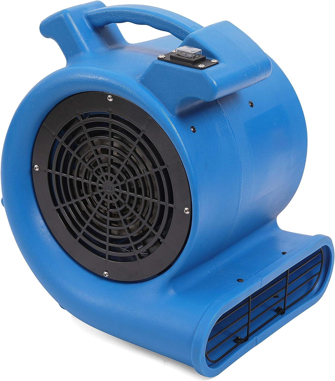MOUNTO 2-Speed 1/2HP 2200CFM Air Mover Floor Carpet Dryers (Blue)