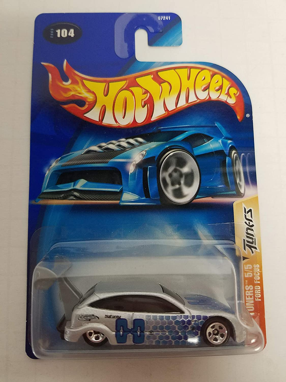 Ford Focus Tech Tuners 5/5 2003 Hot Wheels No. 104