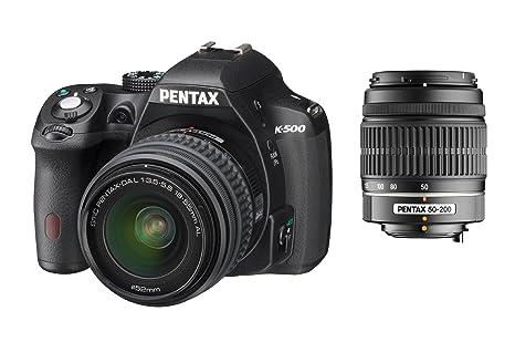 Pentax K500 + DAL18-55 + 50-200: Amazon.es: Electrónica