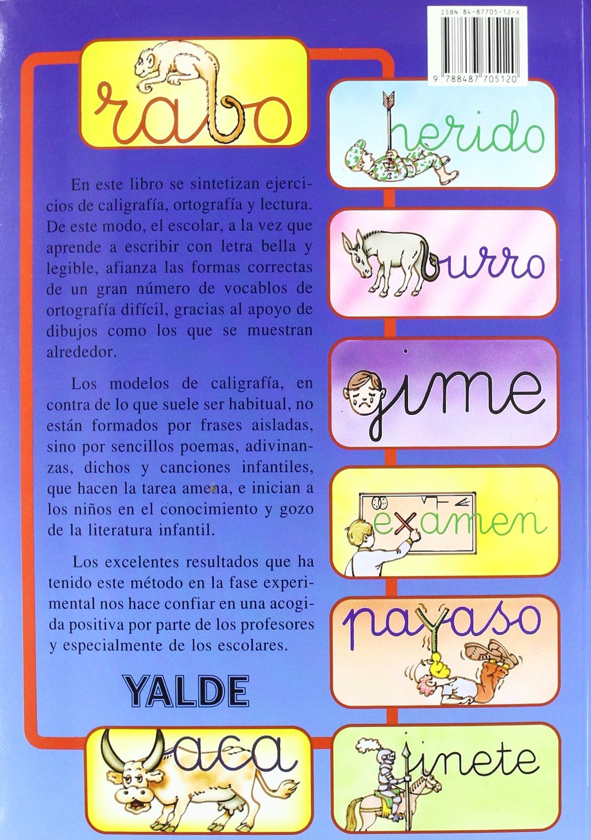 Caligrafía, ortografía, lectura. Nivel 1: Manuel Sanjuán Nájera: 9788487705120: Amazon.com: Books