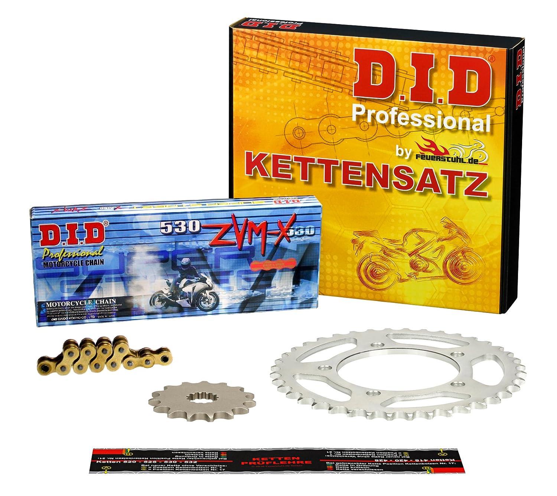 SC58 2006-2012 DID X-Ring extra verst/ärkt gold Kettensatz CBF 1000