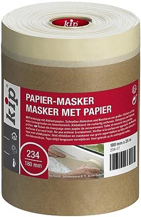 Kip Abdeckpapier Mit Klebestreifen 234 17 Maler Abdeckmaterial 180