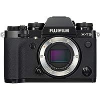 """Fujifilm X-T3 Fotocamera Digitale, 26 MP, Sensore X-Trans CMOS 4 APS-C, Filmati 4K 60p 10bit, HDMI Out 4:2:2, Mirino EVF 3.69 MP, Schermo LCD 3"""" Touch Orientabile, Nero"""