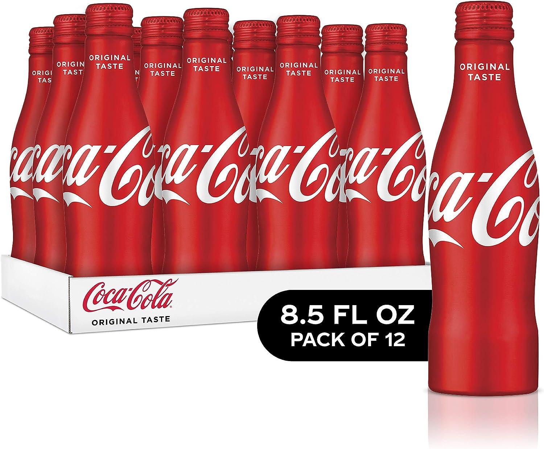 Coca-Cola Aluminum Bottle, 8.5 Ounce (Pack of 12): Amazon.es: Alimentación y bebidas