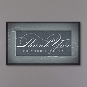 Amazon Com 600pk Thank You For Your Referral Thank You Cards
