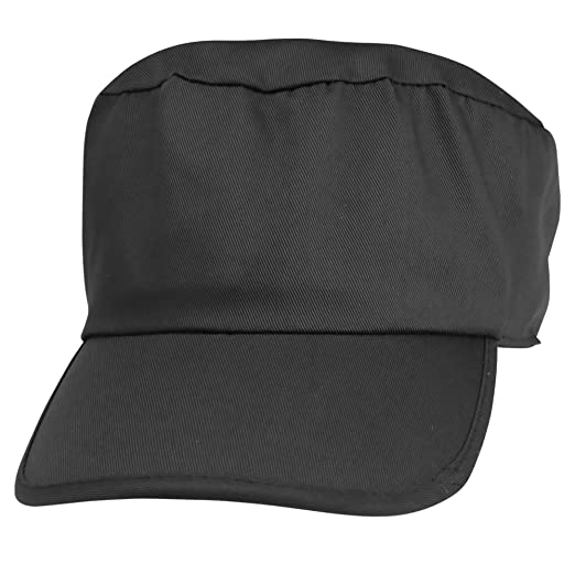 8854af905c5 Blank Hat Cotton Twill Painters Cap in Black at Amazon Men s ...