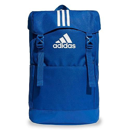 adidas 3S BP, Mochila Unisex Adultos, Azul (Reauni Blanco), 36x24x45 cm
