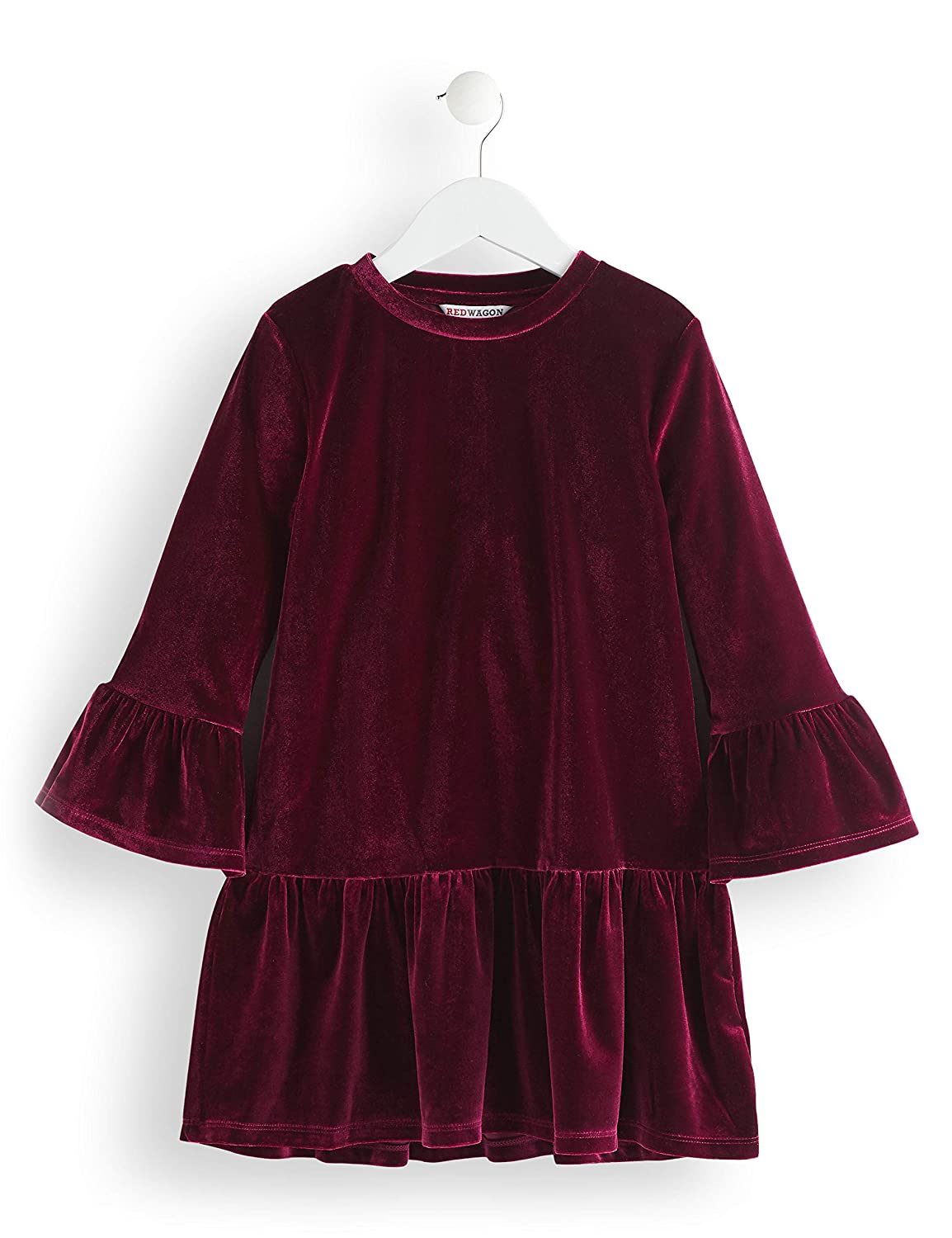 46f3a6473ec94 Amazon Brand - RED WAGON Girl's Velvet Party Dress