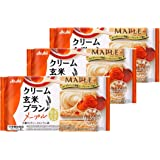 アサヒグループ食品 クリーム玄米ブランメープル 72g ×3袋