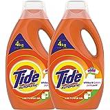 Tide Whites & Colors Power Gel Detergent - Pack of 2-Pieces (2 x 1.8 L)